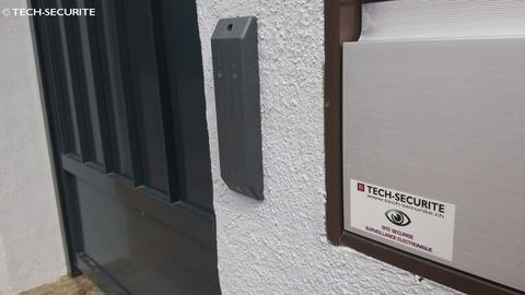 contr le d 39 acc s lectronique digicode tech securite. Black Bedroom Furniture Sets. Home Design Ideas
